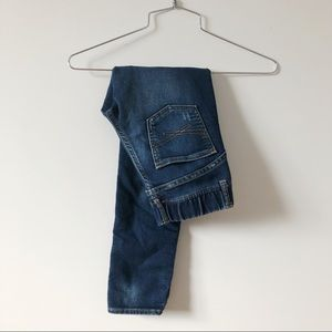 3/20$ Gap kids Jeggings 1969 - blue denim stretch